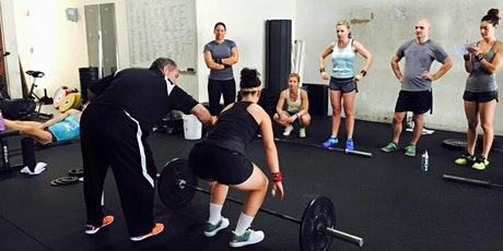 Grass Valley Cohen Olympic Weightlifting Seminar tickets