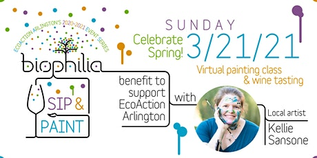 Virtual Paint Class benefitting EcoAction Arlington tickets