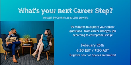 What's your next career step? 90-minutes to explore your career questions. tickets