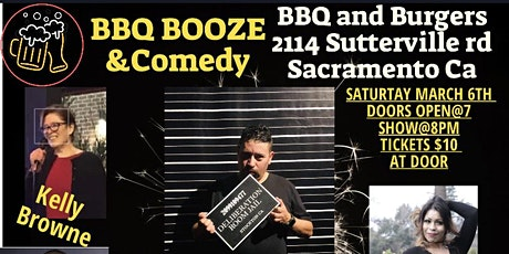 Bbq Booze and comedy with Pete Muñoz tickets