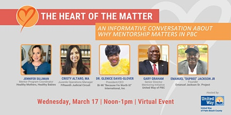 Heart of the Matter Conversation: Why Mentoring Matters in PBC tickets