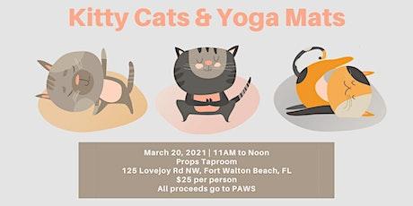 Kitty Cats & Yoga Mats tickets