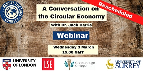 Reduce the Juice Connect: A Conversation on the Circular Economy tickets