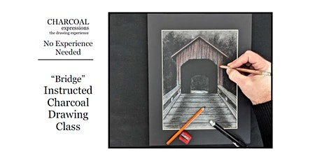 "Charcoal Drawing Event ""Stained Bridge"" in Richland Center tickets"