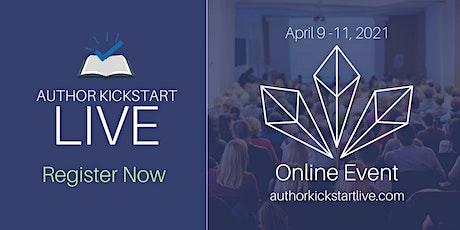 Author Kickstart Live tickets