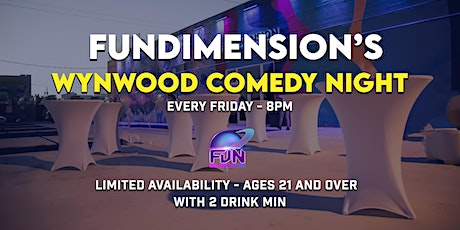 FunDimension's Wynwood Comedy Night entradas