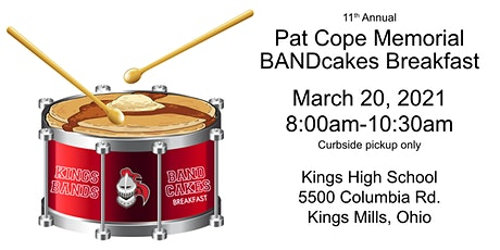 Pat Cope Memorial Band Cakes Breakfast tickets