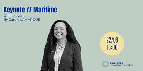 Keynote // Maritime tickets