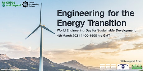 Engineering for the Energy Transition tickets