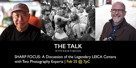 A Discussion of the Legendary LEICA Camera with Two Photography Experts Tickets