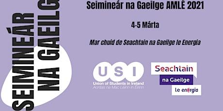 Seimineár na Gaeilge tickets