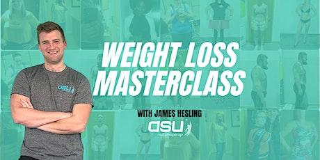 Weight Loss Masterclass tickets