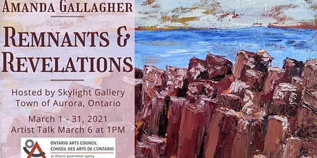 Virtual Art Exhibition - Amanda Gallagher's 'Remnants & Revelations' tickets