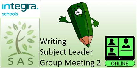 SAS Members -  Writing Subject Leader - meeting 2 tickets