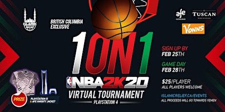 NBA 2K20 Online Tournament (British Columbia) tickets