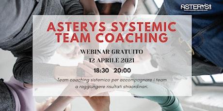 Introduzione al modello Asterys Systemic Team Coaching biglietti