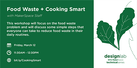 Reducing Food Waste and Cooking Smart tickets