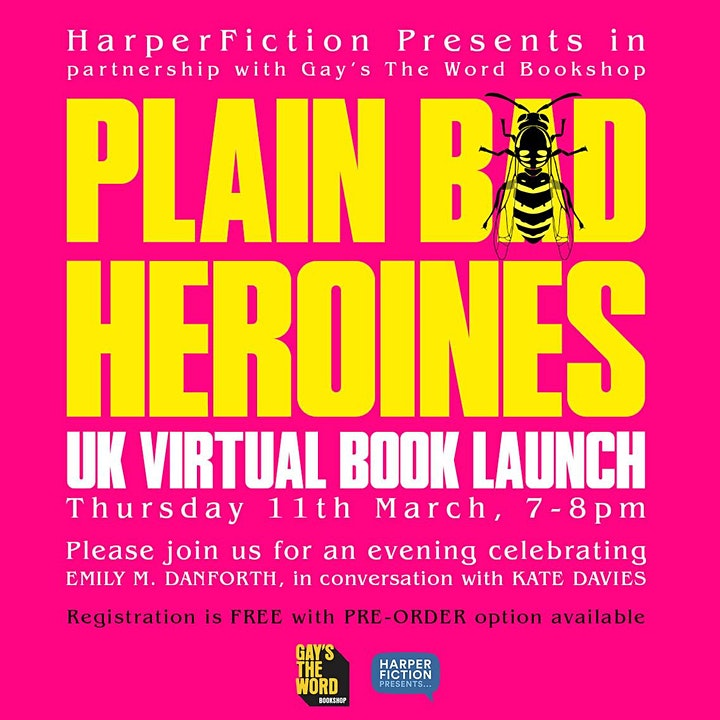 Plain Bad Heroines Book Launch image