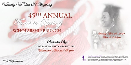 DST Westchester Alumnae Chapter-Virtual Toast to Spring Scholarship Brunch tickets