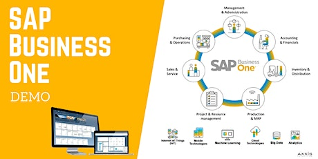SAP Business One Demo Webinar : March 2021 bilhetes