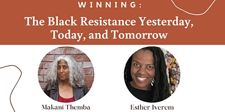 Winning: Black Resistance – Yesterday, Today, and Tomorrow tickets