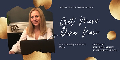 Productivity Power Hour tickets