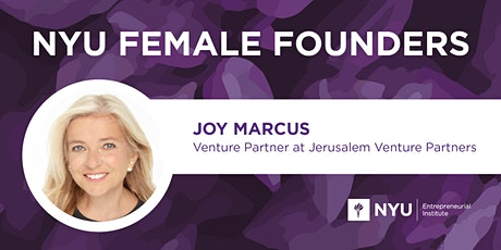 Female Founders Lunch with Joy Marcus of  Jerusalem Venture Partners tickets