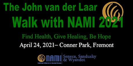 The John Van Der Laar Walk with NAMI 2021 tickets