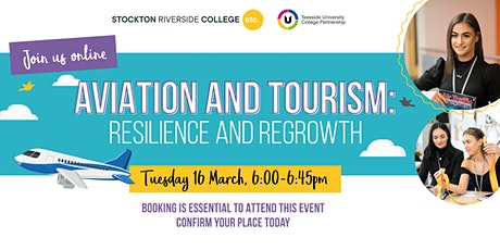 Aviation and Tourism: Resilience and Regrowth Online Event tickets
