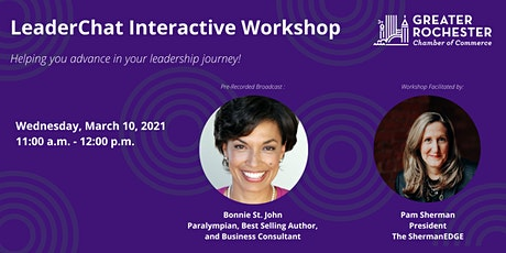 Leaderchat Interactive Workshop - Bonnie St. John tickets