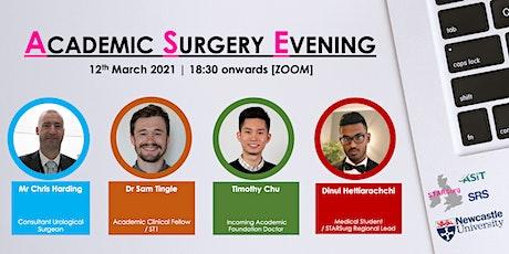 Newcastle University's Academic Surgery Evening tickets