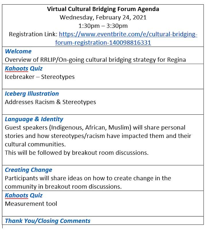 Cultural Bridging Forum image