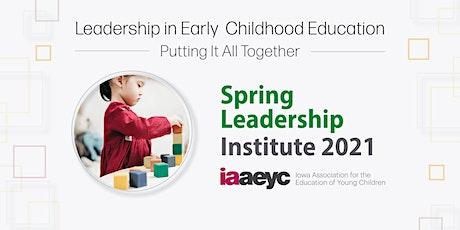 Virtual Spring Leadership Institute boletos