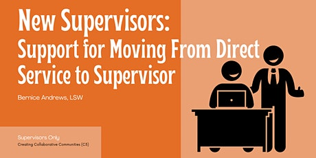 NEW Supervisors: Support for Moving From Direct Service to Supervisor boletos