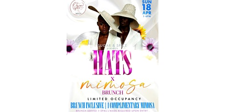 Hats&Mimosa Brunch tickets