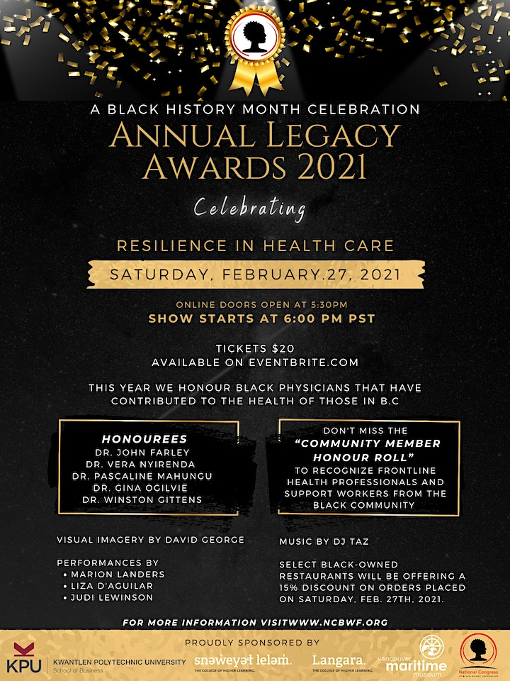 Annual Legacy Awards 2021: Celebrating Resilience in Health Care image