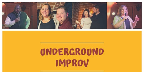 Underground Improv at CBU 3/19 tickets
