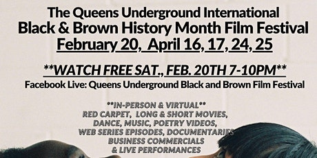 International Black & Brown Film Festival - Queens Underground tickets