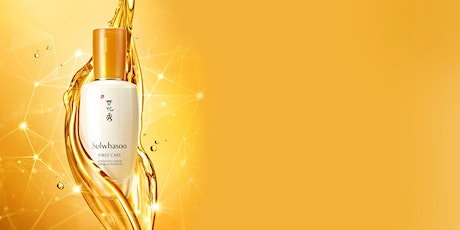 Sulwhasoo Virtual Hanbang Skincare and Wellness Summit ingressos