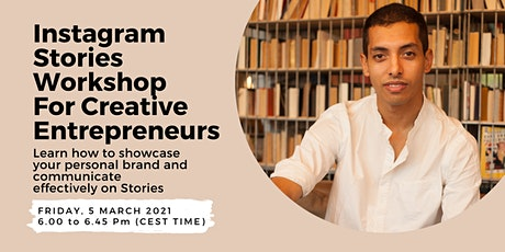 Instagram Stories Workshop for Creative Entrepreneurs tickets