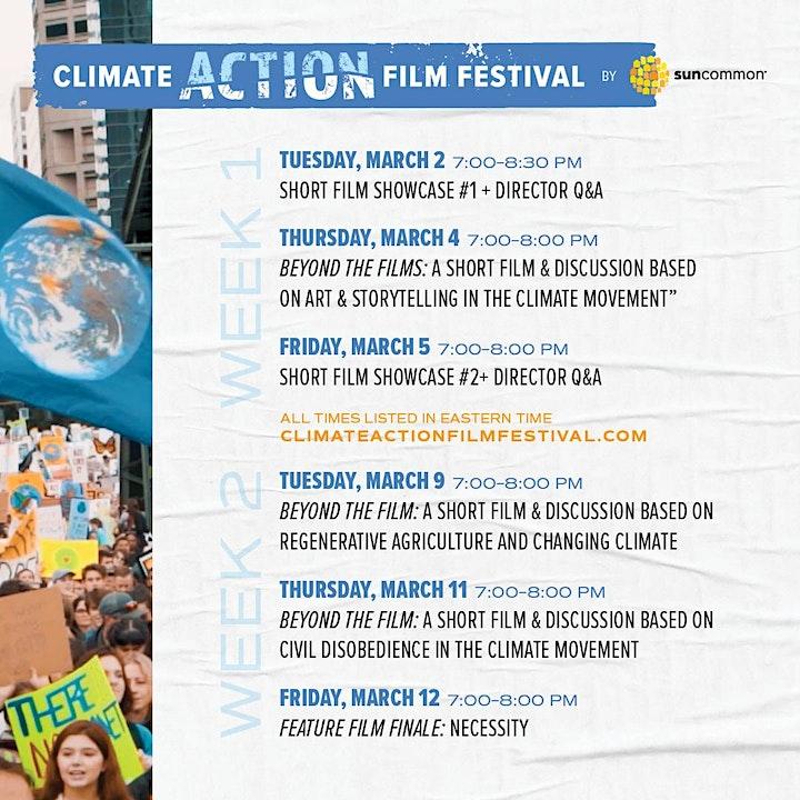 Climate Action Film Festival - Festival Ticket image