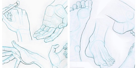 Copy of Intro to drawing  Hands with Nomi Silverman tickets