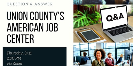 Q&A with Union County's American Job Center tickets