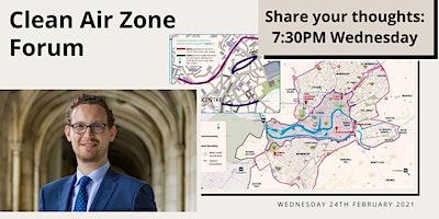 Clean Air Zone Forum – Bristol North West