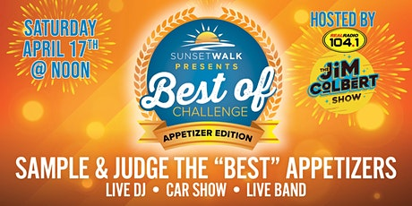 Promenade at Sunset Walk Presents - Best of Challenge: Appetizer Edition tickets