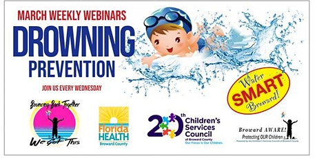 Broward Aware Campaign's Drowning Prevention Webinar Series tickets