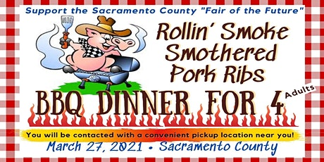 Rollin' Smoke Smothered Pork Rib BBQ Dinner tickets
