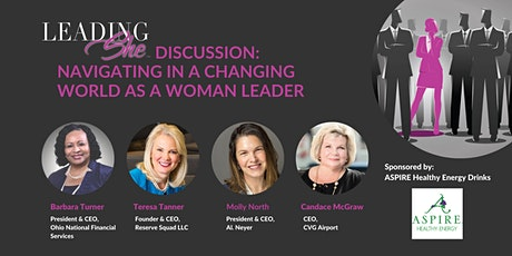LeadingShe Discussion: Navigating in a Changing World as a Woman Leader tickets