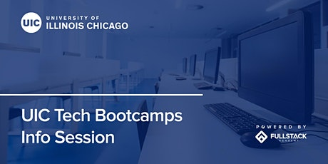 Online Info Session | UIC Tech Bootcamps tickets