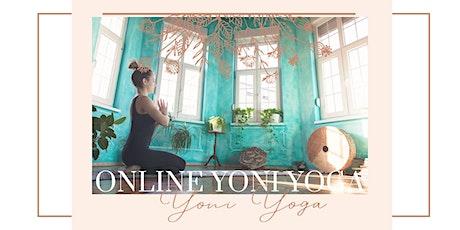 Yoni Yoga Online Class Tickets